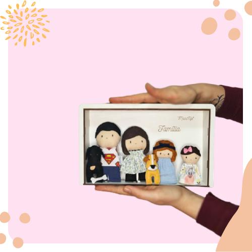 Mini Famílias Personalizadas
